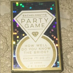 6/$25 Bachelorette Party Card Game